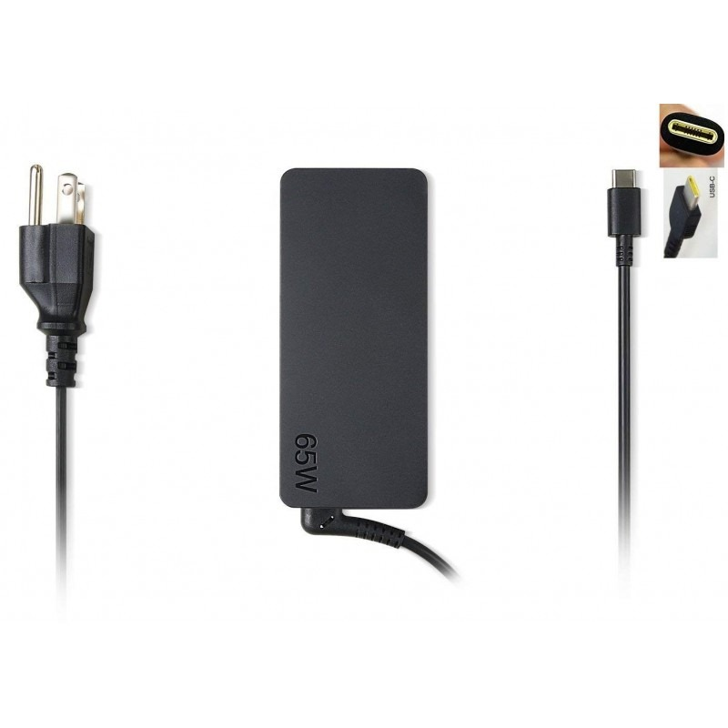 Adapter Lenovo 65W  With USB Type C