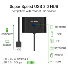 Hub USB 3.0 to 4 Port USB 3.0 Ugreen 20291